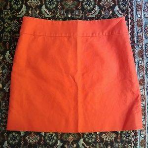 J. Crew Cotton Work Skirt